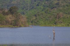Reservoir in Nakhon Ratchasima Province Royalty Free Stock Photo