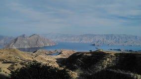 Reservoir Nurek Stock Foto