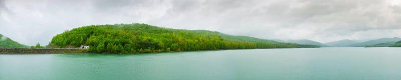 Reservoir Panorama Royalty Free Stock Photos