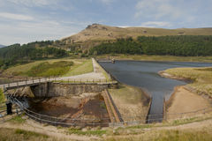 Reservoir in the peak district Royalty Free Stock Photo