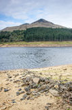 Reservoir in the peak district Royalty Free Stock Image