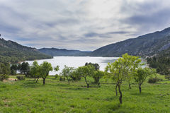 Reservoir of Pena. Stock Photography