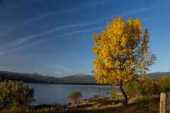 Reservoir Pinilla, Madrid Stock Photography