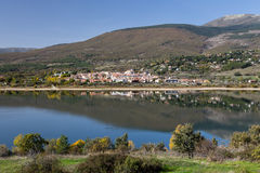 Reservoir Pinilla, Madrid Royalty Free Stock Images