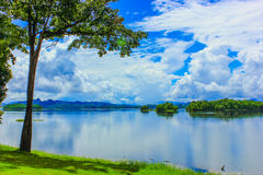 Reservoir. Pompi's reservoir in Kanjanaburi Thailand Royalty Free Stock Photo