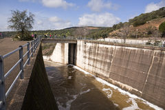 Reservoir of San Rafael de Navallana Stock Photography