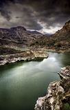Reservoir Soria. Photo taken Reservoir Soria in Gran Canaria royalty free stock photography
