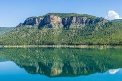 Reservoir in Spain Stock Images