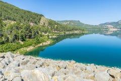 Reservoir in Spain Stock Image