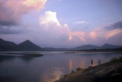 Reservoir, Sri Lanka stock afbeeldingen