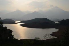 A reservoir Royalty Free Stock Photo