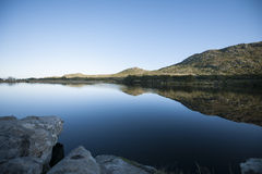 Reservoir of water Royalty Free Stock Photography