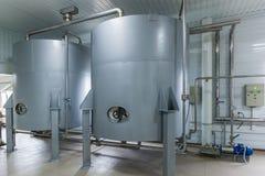 Reservoirs voor vloeistoffen royalty-vrije stock fotografie