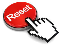 Reset button Royalty Free Stock Photo