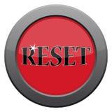 Reset Dark Metal Icon. A reset dark metal icon isolated on a white background stock illustration