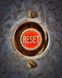 Reset the Grunge stock photo