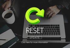 Reset Restart Back Beginning Concept Stock Photos