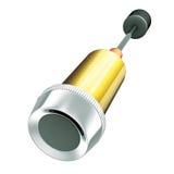 Reset unit button. 3d illustration render, Reset unit button Royalty Free Stock Image