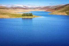 Resevoir Craig Goch в долине Уэльс Elan стоковая фотография