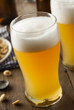 Resfreshing Lager Beer d'or Photos libres de droits
