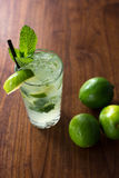 Resfreshing Mojito Stock Foto's