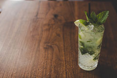 Resfreshing Mojito. Mojito made with fresh mint and lime Royalty Free Stock Image