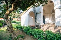 Residência do ` dos empregados da alfândega de Tamsui em Tamsui, Taipei, Taiwan foto de stock royalty free