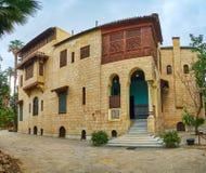 A residência do palácio de Manial, o Cairo, Egito imagens de stock