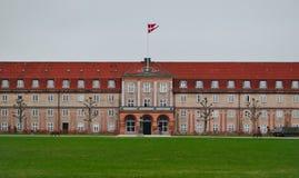 Residência do rei em Dinamarca Fotos de Stock Royalty Free
