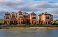 A residência moderna nas areias termina, Fulham fotos de stock royalty free