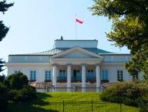 Residência polonesa do presidente foto de stock