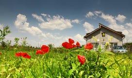 Residência rural imagem de stock