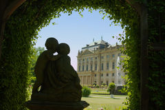 Residência Wuerzburg fotos de stock royalty free