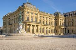 Residência Wurzburg Fotos de Stock Royalty Free