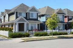 Residências em Richmond BC Canadá. foto de stock royalty free