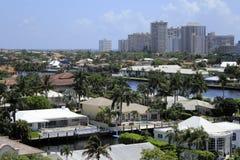 Residências litorais luxuosas Imagem de Stock