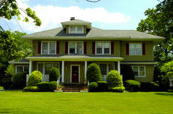 Residence. Suburban Home Royalty Free Stock Photography