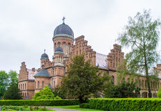 Residence of Bukovinian Metropolitan Royalty Free Stock Photos
