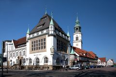 Residence City Celle, Lower Saxony, Germany Royalty Free Stock Photo
