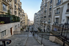 Residence Community in Paris Stock Photos