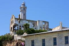 Residence del custode, Alcatraz fotografia stock