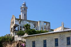 Residence des Wärters, Alcatraz Stockfotografie