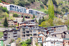 Residence district at Pyrenees Royalty Free Stock Photo