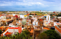 Residence district of Sagunto. Valencian Community Royalty Free Stock Photos