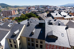 Residence districts  of Ponferrada Royalty Free Stock Image