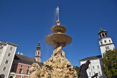 The Residence fountain Royalty Free Stock Images