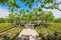 The Residence garden of Bamberg, Germany Royalty Free Stock Photos