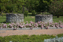 Residence gardening Stock Images