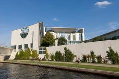 Residence of the german chancellor - Bundeskanzler Stock Image