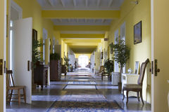 Residence hallway Royalty Free Stock Images